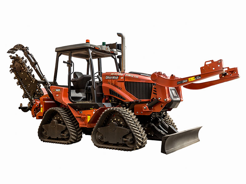 Ditch Witch RT 125 with ST120H Trencher - Abba Plant Hire